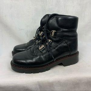 SOREL Vintage Leather Lace Up Winter Hiker-Style Boots Sz 7
